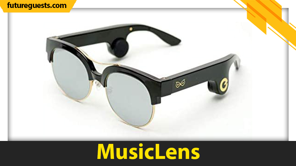 best bone conduction glasses MusicLens