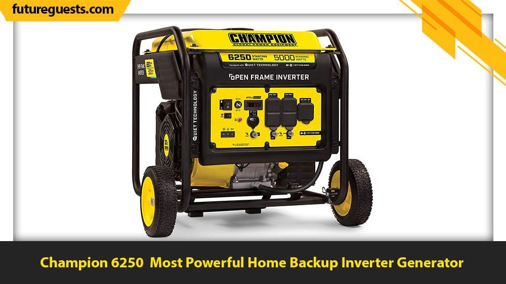 best inverter generator for home backup Champion 6250