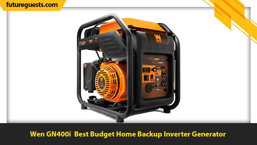 best inverter generator for home backup Wen GN400i