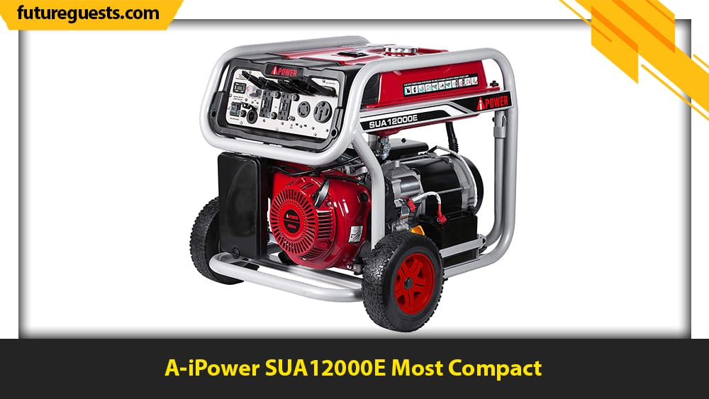 best large portable generators A-iPower SUA12000E