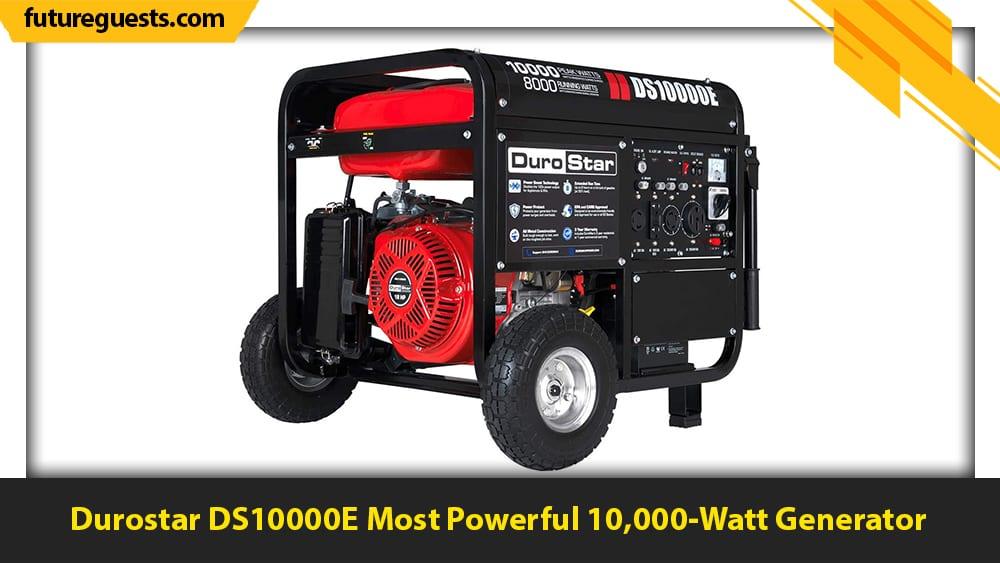 best large portable generators Durostar DS10000E