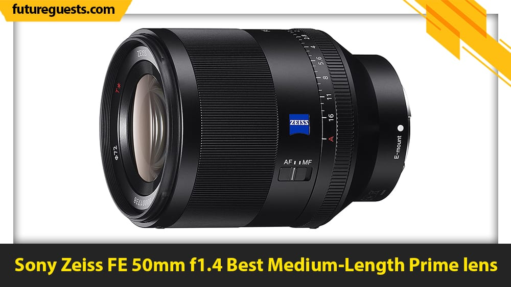 best lenses for sony a7c Sony Zeiss FE 50mm f1.4