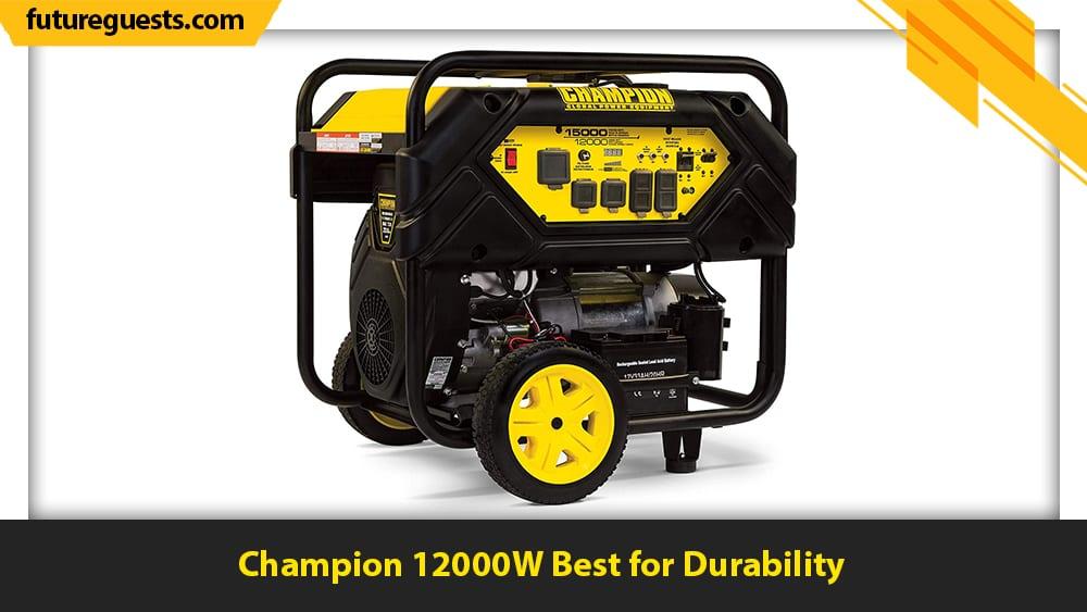 best 50 amp generator Champion 12000W