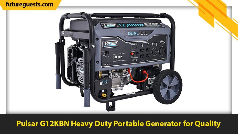 best 50 amp generator Pulsar G12KBN Heavy Duty Portable Generator