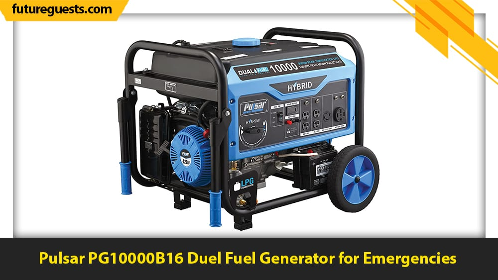 best 50 amp generator Pulsar PG10000B16 Duel Fuel Generator