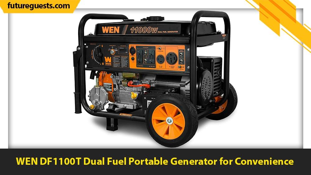 best 50 amp generator WEN DF1100T Dual Fuel Portable Generator