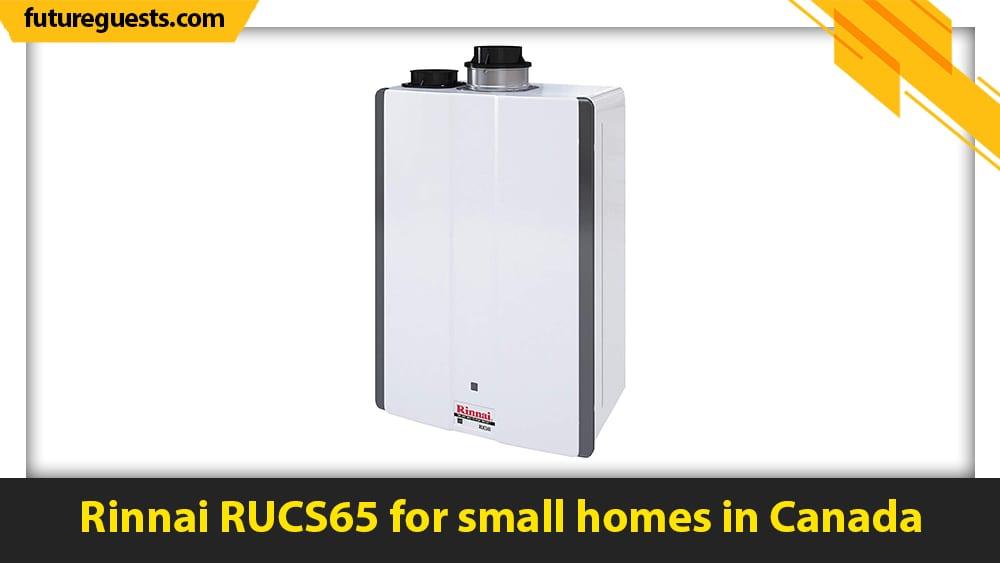 best small tankless water heater Rinnai RUCS65