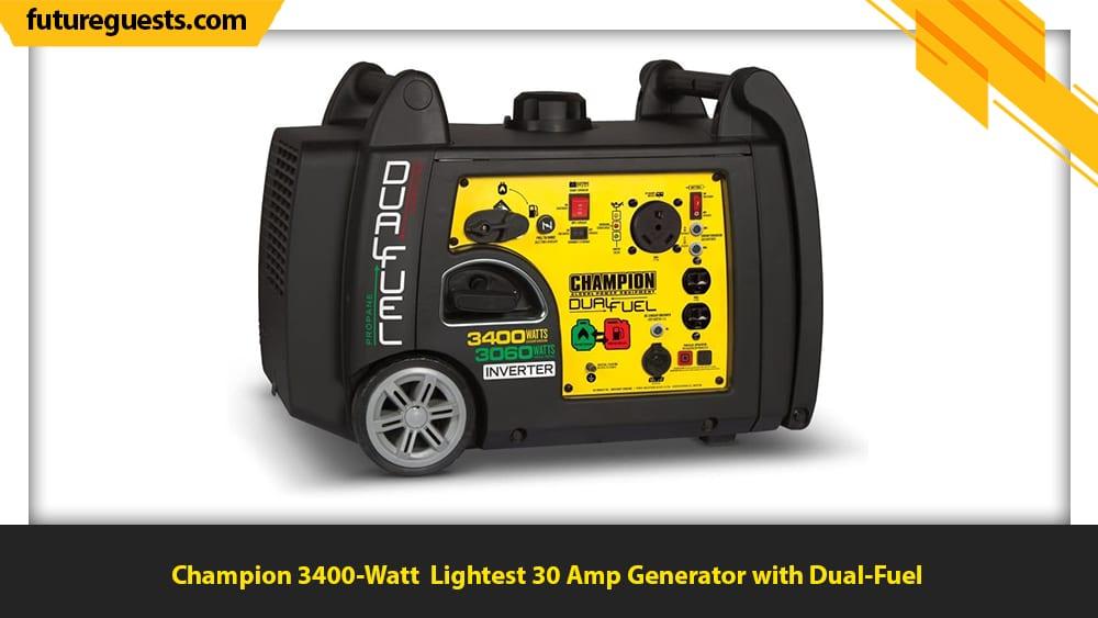 best 30 amp generator Champion 3400-Watt