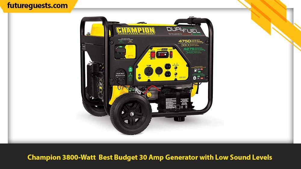best 30 amp generator Champion 3800-Watt