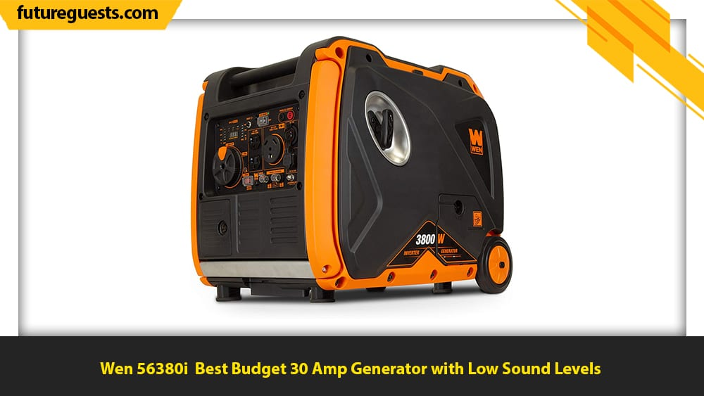 best 30 amp generator Wen 56380i