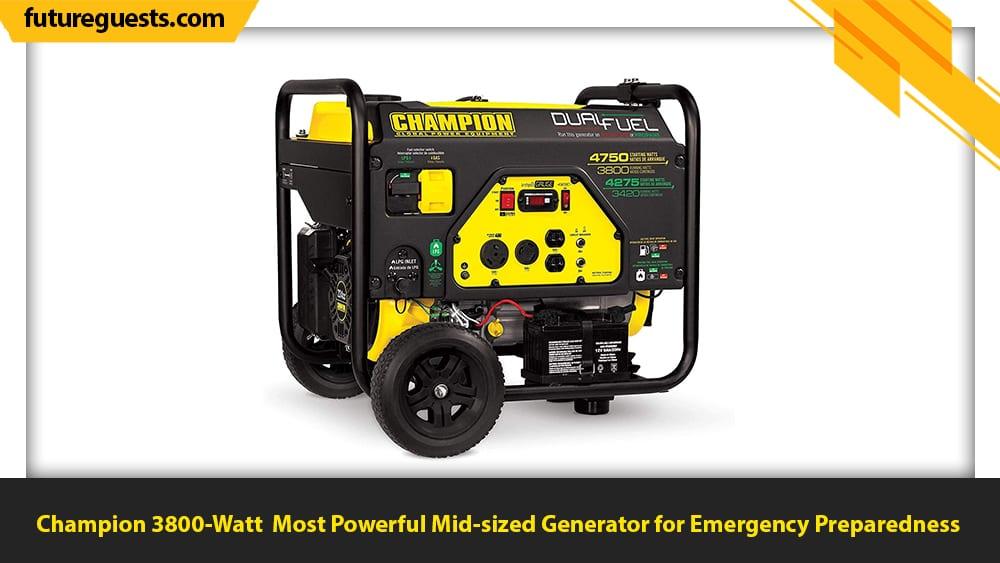best generator for emergency preparedness Champion 3800-Watt