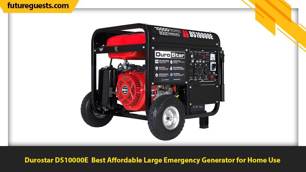 best generator for emergency preparedness Durostar DS10000E