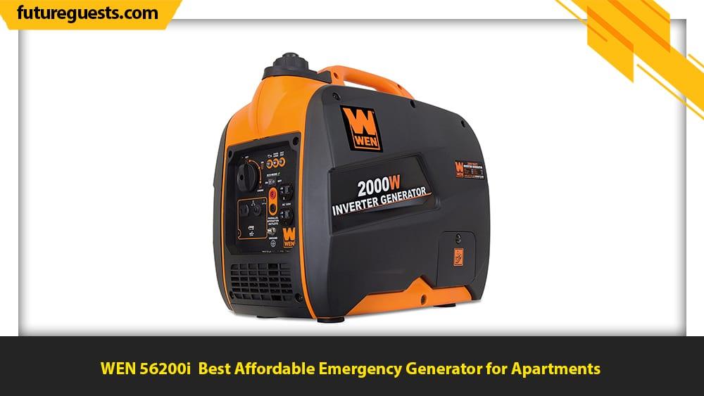 best generator for emergency preparedness WEN 56200i