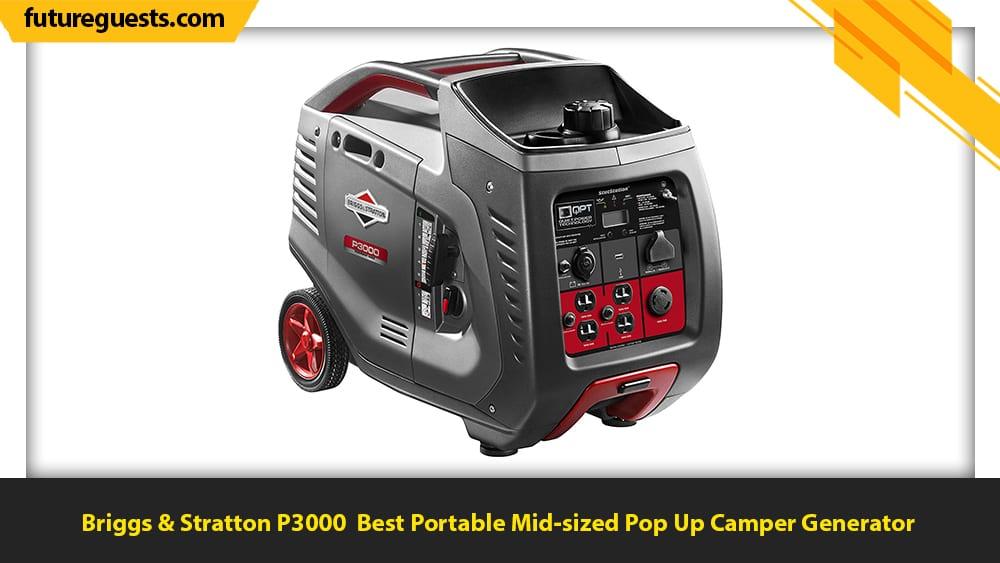 best generator for pop up camper Briggs & Stratton P3000