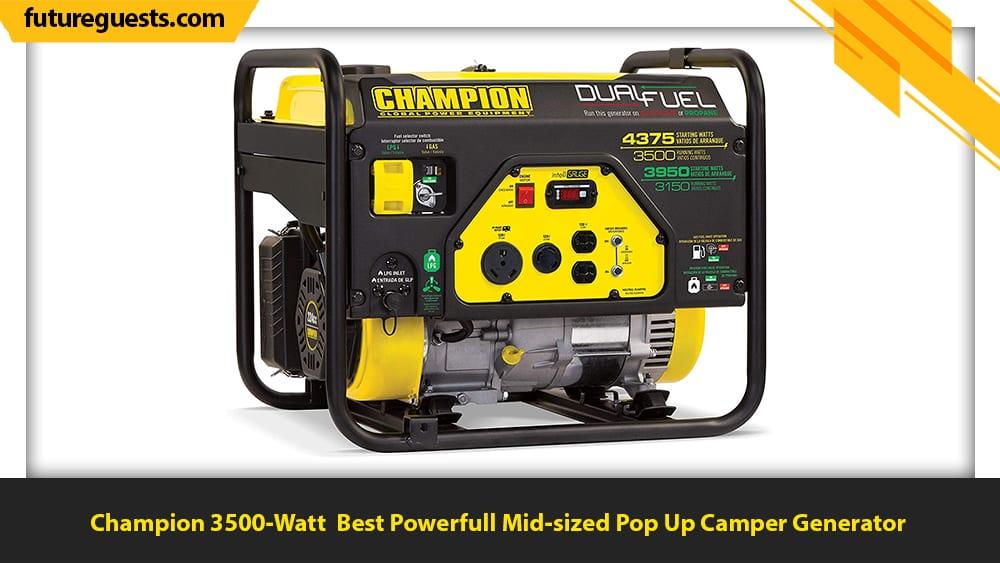 best generator for pop up camper Champion 3500-Watt