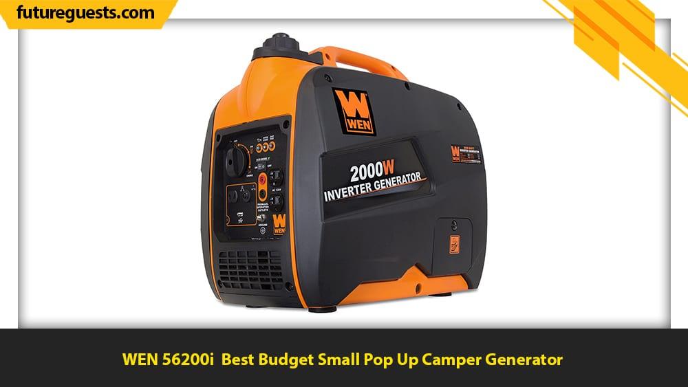 best generator for pop up camper WEN 56200i